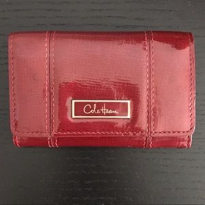 Cole Haan Dark Red Small Wallet